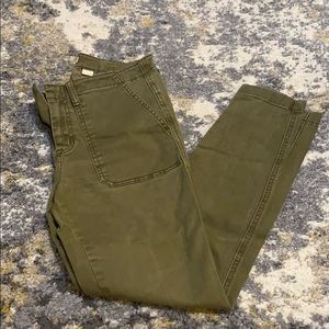 Army green pant